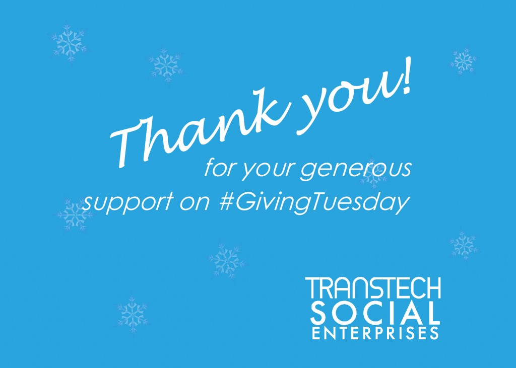 Thank You #GivingTuesday